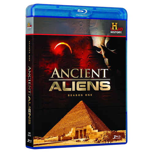Ancient Aliens - Sesong 1 (BLU-RAY)