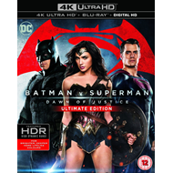 Batman v Superman: Dawn Of Justice - Ultimate Edition (UK-import) (4K Ultra HD + Blu-ray)