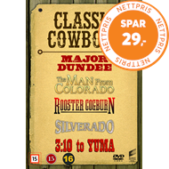 Produktbilde for Classic Cowboys Vol. 2 (DVD)