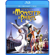 A Monster In Paris (UK-import) (Blu-ray 3D + Blu-ray + DVD)