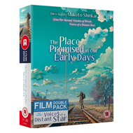 The Place Promised In Our Early Days / Voices Of A Distant Star (UK-import) (Blu-ray + DVD)