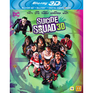 Suicide Squad (Blu-ray 3D + Blu-ray)