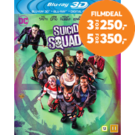 Produktbilde for Suicide Squad (Blu-ray 3D + Blu-ray)