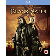 Black Sails - Sesong 1 - 3 (UK-import) (BLU-RAY)