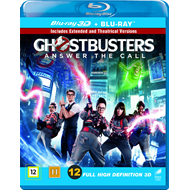Produktbilde for Ghostbusters - Extended Edition (DK-import) (Blu-ray 3D + Blu-ray)