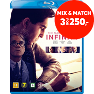 Produktbilde for The Man Who Knew Infinity (BLU-RAY)