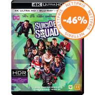 Produktbilde for Suicide Squad (4K Ultra HD + Blu-ray)