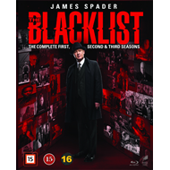The Blacklist - Sesong 1 - 3 (BLU-RAY)