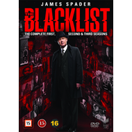 The Blacklist - Sesong 1 - 3 (DVD)