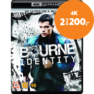 Produktbilde for The Bourne Identity (4K Ultra HD + Blu-ray)