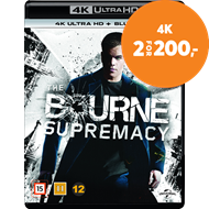 Produktbilde for The Bourne Supremacy (4K Ultra HD + Blu-ray)