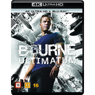 Produktbilde for The Bourne Ultimatum (4K Ultra HD + Blu-ray)