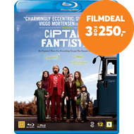 Produktbilde for Captain Fantastic (BLU-RAY)