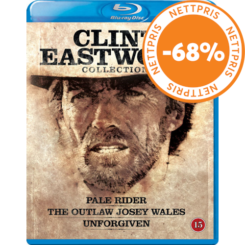 Clint Eastwood Western Collection (BLU-RAY)