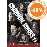 Produktbilde for Criminal Minds - Sesong 11 (DVD)