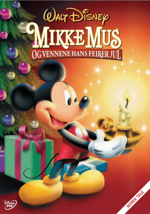 Mikke Mus Og Vennene Hans Feirer Jul
