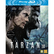 The Legend Of Tarzan (Blu-ray 3D + Blu-ray)