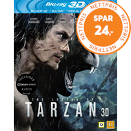 Produktbilde for The Legend Of Tarzan (Blu-ray 3D + Blu-ray)
