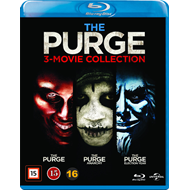The Purge 3-Movie Collection (BLU-RAY)