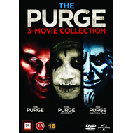 The Purge 3-Movie Collection (DVD)