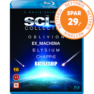 Produktbilde for The Sci-Fi Collection (BLU-RAY)