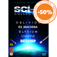 Produktbilde for The Sci-Fi Collection (DVD)