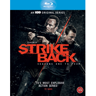 Strike Back - Sesong 1 - 4 (BLU-RAY)