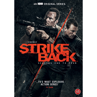 Strike Back - Sesong 1 - 4 (DVD)