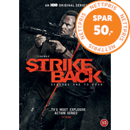 Produktbilde for Strike Back - Sesong 1 - 4 (DVD)