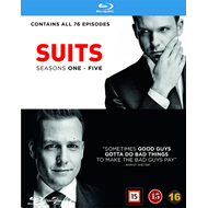 Suits - Sesong 1 - 5 (BLU-RAY)