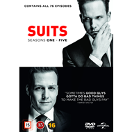 Suits - Sesong 1 - 5 (DVD)