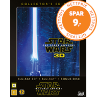 Produktbilde for Star Wars: Episode VII - The Force Awakens - Collector's Edition (DK-import) (Blu-ray 3D + Blu-ray)
