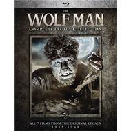 The Wolf Man - Complete Legacy Collection (BLU-RAY)