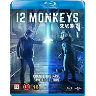 12 Monkeys - Sesong 2 (BLU-RAY)