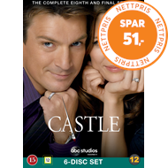 Produktbilde for Castle - Sesong 8 (UK-import) (DVD)