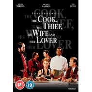 The Cook, The Thief, His Wife And Her Lover (UK-import) (DVD)