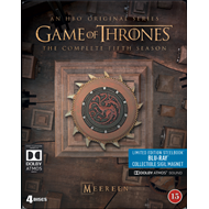 Game Of Thrones - Sesong 5: Steelbook Edition (BLU-RAY)