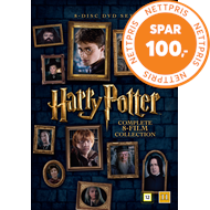 Produktbilde for Harry Potter - Den Komplette Samlingen (DVD)
