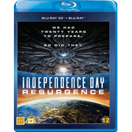 Independence Day: Resurgence (Blu-ray 3D + Blu-ray)