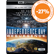 Produktbilde for Independence Day: Resurgence (4K Ultra HD + Blu-ray)