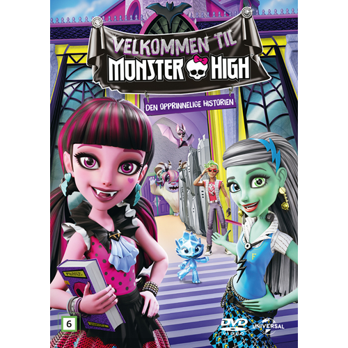 Welcome To Monster High (DVD)