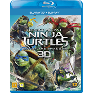 Teenage Mutant Ninja Turtles: Out Of The Shadows (Blu-ray 3D + Blu-ray)