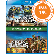 Produktbilde for Teenage Mutant Ninja Turtles 1-2 Box (BLU-RAY)
