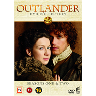 Produktbilde for Outlander - Sesong 1 & 2 (DK-import) (DVD)
