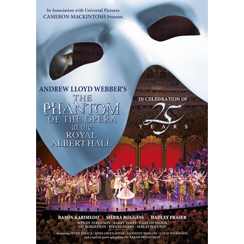 The Phantom Of The Opera At Royal Albert Hall (UK-import) (DVD)