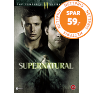 Produktbilde for Supernatural - Sesong 11 (DVD)