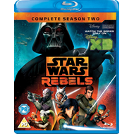 Star Wars Rebels - Sesong 2 (UK-import) (BLU-RAY)