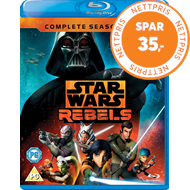 Produktbilde for Star Wars Rebels - Sesong 2 (UK-import) (BLU-RAY)