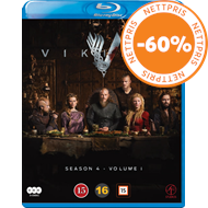 Produktbilde for Vikings - Sesong 4 Del 1 (BLU-RAY)