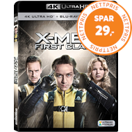 Produktbilde for X-Men: First Class (4K Ultra HD + Blu-ray)